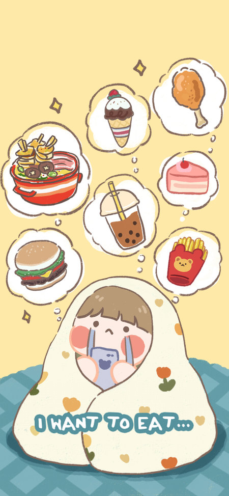 I want to eat极品游戏桌面精选4K手机壁纸