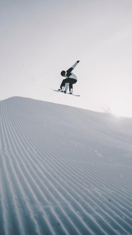 滑雪运动员极品游戏桌面精选4K手机壁纸