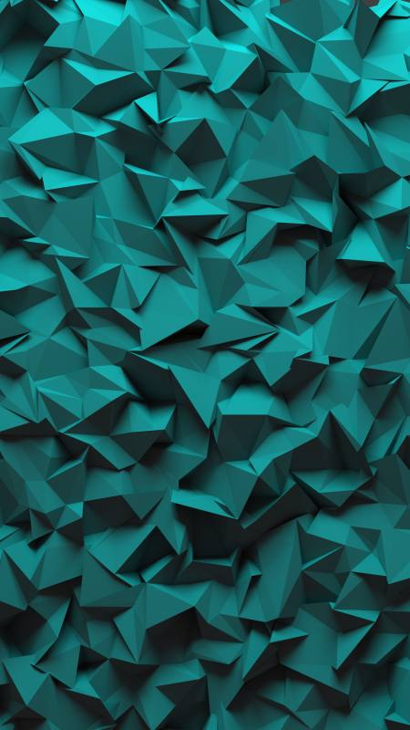 3D多边形背景极品游戏桌面精选4K手机壁纸