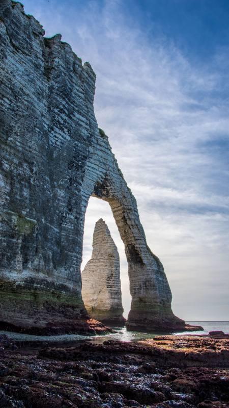海岸拱门自然风景极品游戏桌面精选4K手机壁纸