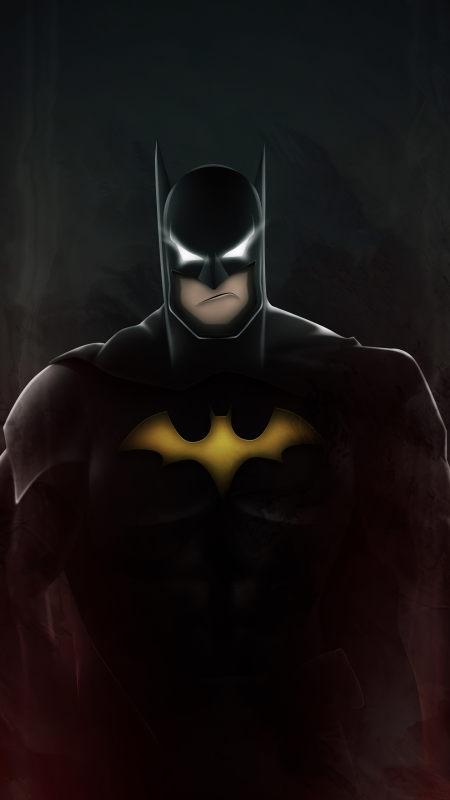 蝙蝠侠插画极品游戏桌面精选4K手机壁纸