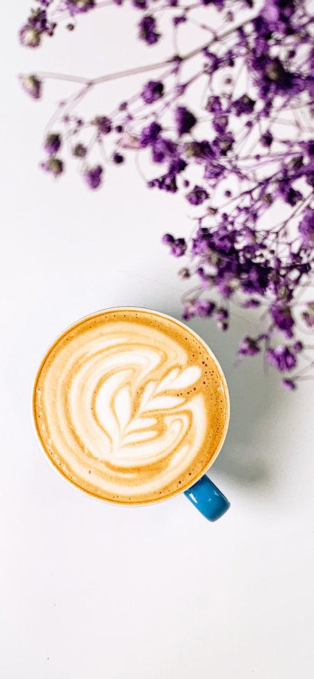 卡布奇洛咖啡4K高清手机壁纸推荐