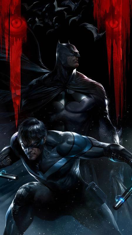 蝙蝠侠漫画极品游戏桌面精选4K手机壁纸