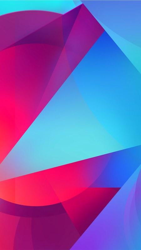 彩色几何渐变背景4K高清手机壁纸推荐