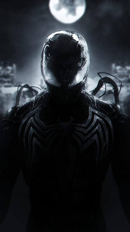 蜘蛛侠毒液共生体极品游戏桌面精选4K手机壁纸