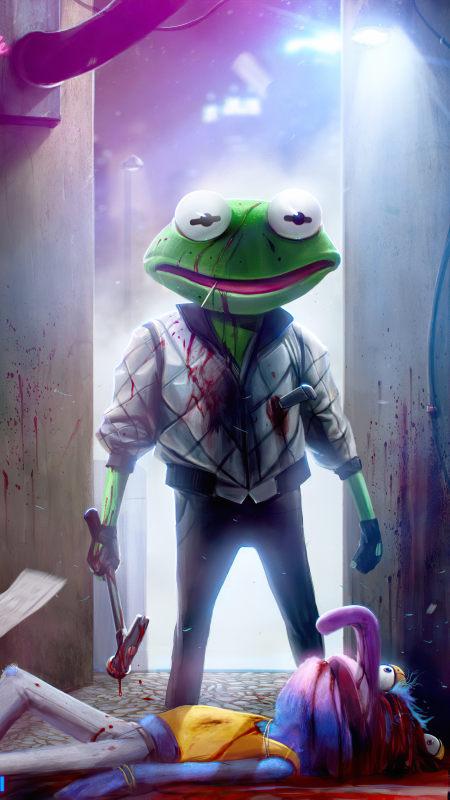 青蛙杀手极品游戏桌面精选4K手机壁纸