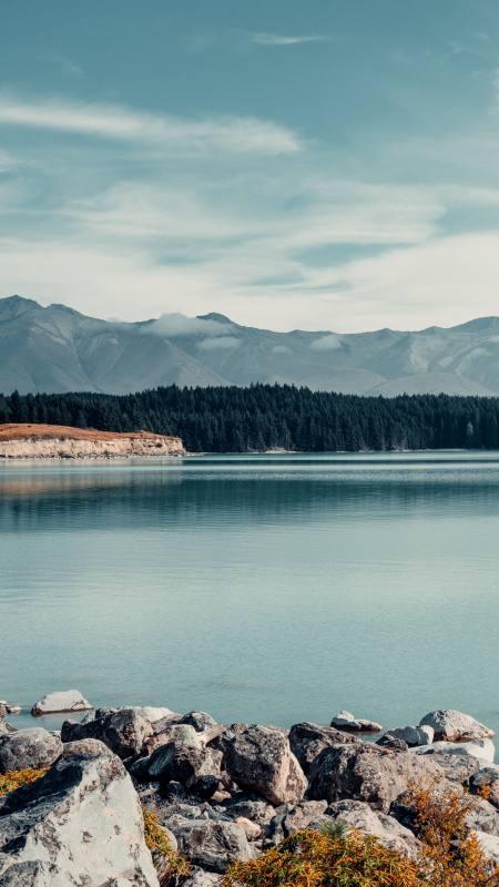 湖泊 森林 山脉4K高清手机壁纸精选