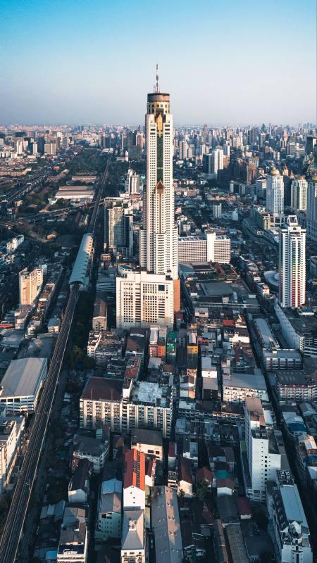 城市建筑极品游戏桌面精选4K手机壁纸