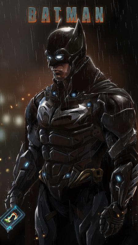 蝙蝠侠极品游戏桌面精选4K手机壁纸