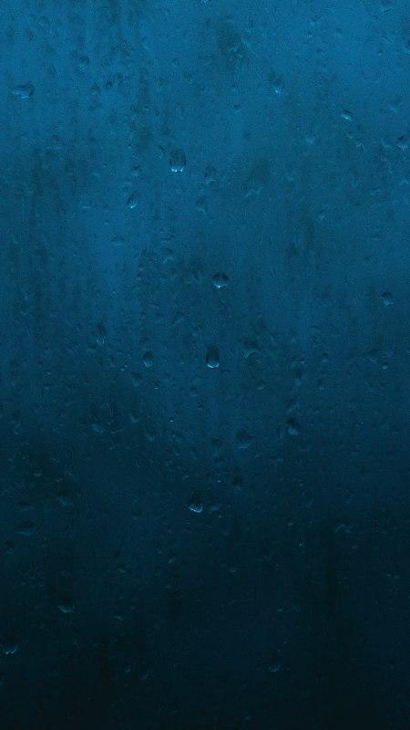 蓝色墙壁上的水珠极品游戏桌面精选4K手机壁纸