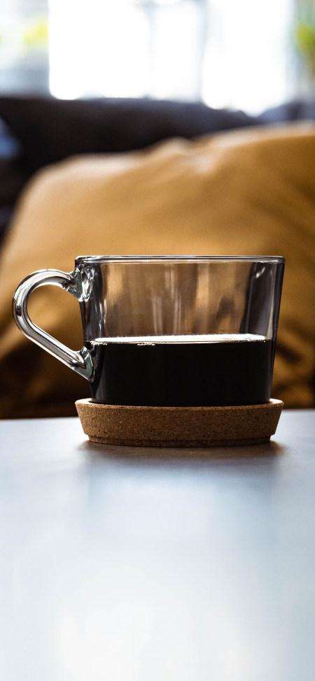 黑色苦咖啡4K高清手机壁纸推荐