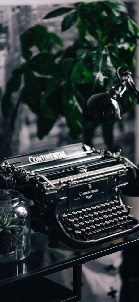 打字机4K高清手机壁纸精选