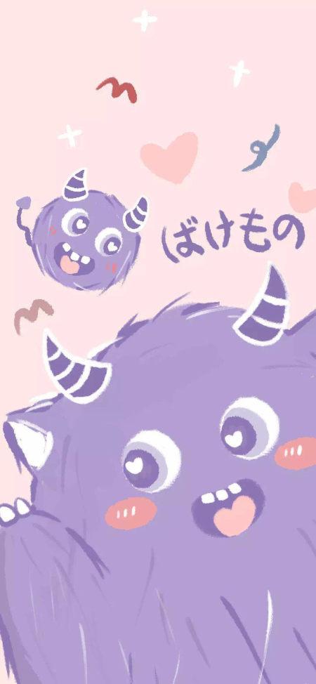 可爱的小怪兽极品游戏桌面精选4K手机壁纸