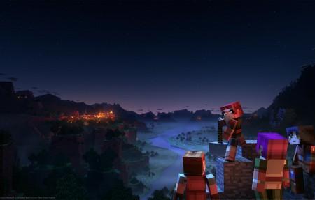 《我的世界地下城 Minecraft Dungeons》4k游戏壁纸高端桌面精品3840x2160