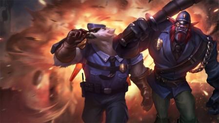 警长-沃利贝尔《LOL英雄联盟》2020 4K游戏超清壁纸百变桌面精选 3840x2160