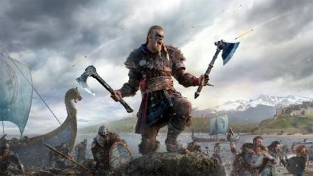 2020《刺客信条:英灵殿(Assassin's Creed Valhalla)》维京战士艾沃尔 4K游戏高清壁纸高端桌面精选 3840x2160