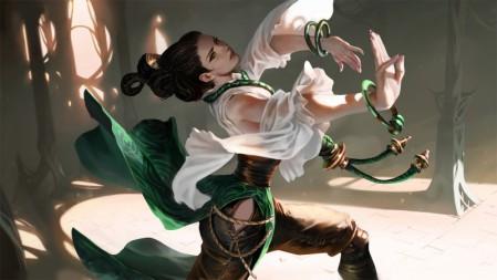 《符文之地传奇legends of runeterra》绳子 镯 白衣 阳光 4K超清游戏壁纸高端桌面精选 3840x2160