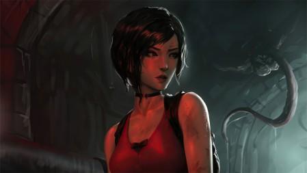 Ada Wong艾达王《生化危机2重制版(Biohazard Re2)》 3840x2160