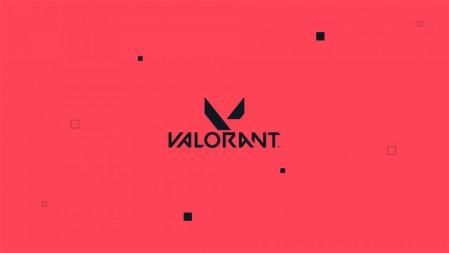 拳头FPS2020《Valorant》粉黑logo 4K游戏高清壁纸百变桌面精选 3840x2160