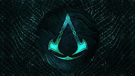 logo《刺客信条:英灵殿(Assassin's Creed Valhalla)》2020 4K游戏高清壁纸高端桌面精选 3840x2160