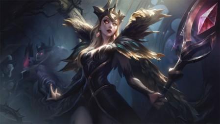 魔女-乐芙兰《英雄联盟LOL》2020 4K高清墙纸 3840x2160