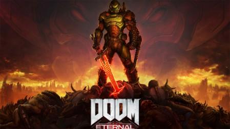 《毁灭战士永恒 -DOOM Eternal》废墟 高地 尸体 4K高清壁纸高端桌面精选 3840x2160