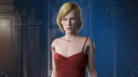 《生化危机3-Resident Evil 3》红色吊带 金色短发 女孩 4K高清壁纸高端桌面精选 3840x2160