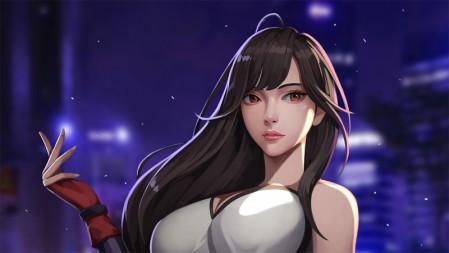 Tifa蒂法《最终幻想7》2020 4K高清图片 3840x2160
