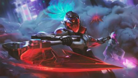 《英雄联盟(LOL)》 离群之刺 源计划 暗影 阿卡丽 4K游戏高清壁纸高端桌面精选 3840x2160