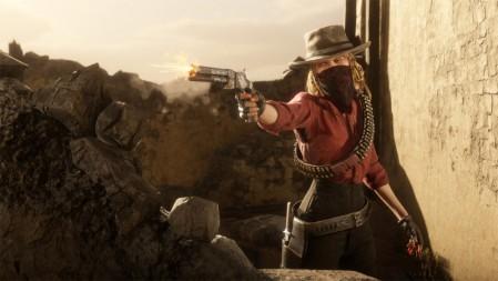《红死在线》(Red Dead Online) 4k高清游戏壁纸高端桌面精选 3840x2160