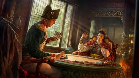 《全面战争英雄传Total War Elysium》卡牌 窗 光 女帝 士兵 4K超清游戏壁纸高端桌面精选 3840x2160