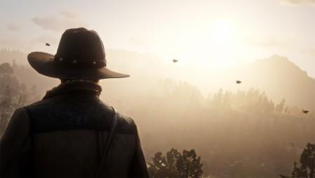 《荒野大镖客:救赎2-Red Dead Redemption2》太阳 4K高清壁纸高端桌面精选 3840x2160