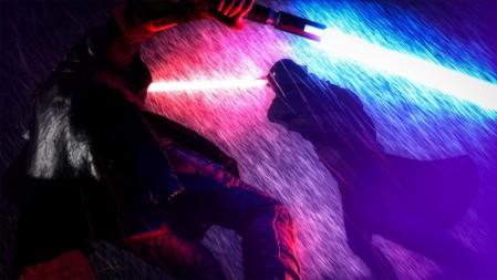 《星球大战 [Star Wars]》红蓝pk 4K高清壁纸百变桌面精选 3840x2160