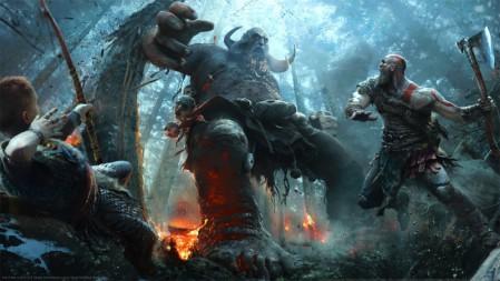 《战神/God of War》 4K游戏高清壁纸高端桌面精选 3840x2160