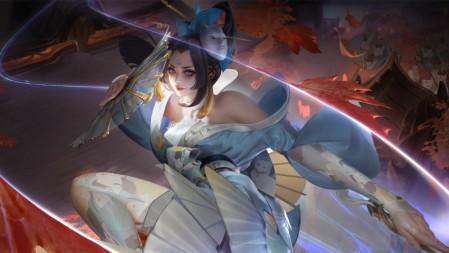 《王者荣耀(魅语-不知火舞)》 4K游戏高清壁纸高端桌面精选 3840x2160
