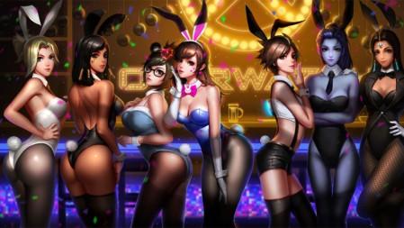 兔女郎守望先锋 美女屁股高清游戏壁纸高端桌面精选 3840x2160