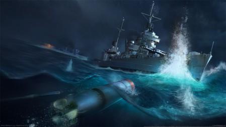 《战舰世界(World of Warships)》  4K游戏高清壁纸高端桌面精选 3840x2160