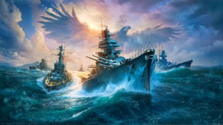 《战舰世界-World of Warships》 4K高清壁纸百变桌面精选 3840x2160