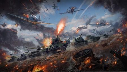 《战争雷霆-war thunder》坦克 飞机 战争 4K高清壁纸高端桌面精选 3840x2160
