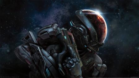 《质量效应:仙女座-Mass Effect Andromeda》 红头盔盔甲 4K高清壁纸高端桌面精选 3840x2160