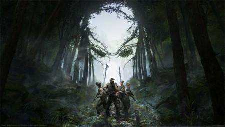 《铁血战士:狩猎场-Predator: Hunting Grounds》森林 战队 4K游戏壁纸高端桌面精选 3840x2160