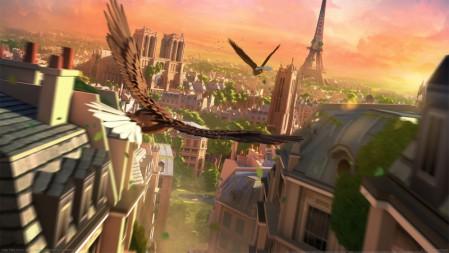《化鹰(Eagle Flight)》 4K游戏高清壁纸高端桌面精选 3840x2160