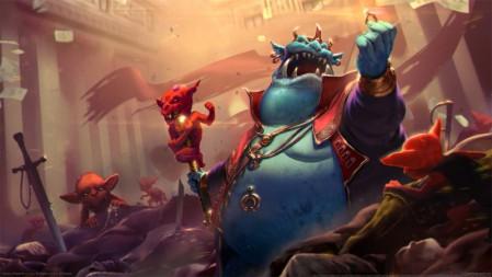 《超神英雄/Heroes of Newerth》 4K游戏高清壁纸高端桌面精选 3840x2160