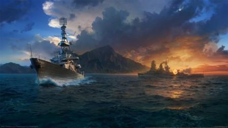 《战舰世界/World of Warships》 4K游戏高清壁纸高端桌面精选 3840x2160
