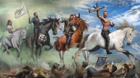 《孤岛惊魂5/far cry 5》 4K高清壁纸高端桌面精选 3840x2160