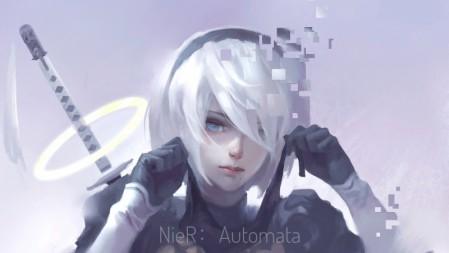 《尼尔:机械纪元/NieR Automata》 4k高清壁纸极品壁纸推荐 3840x2160