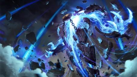 远古巫灵 原画 泽拉斯 英雄联盟 壁纸高端桌面精选 3840x2160