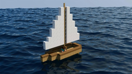 帆船 大海  我的世界 壁纸高端桌面精选 3840x2160