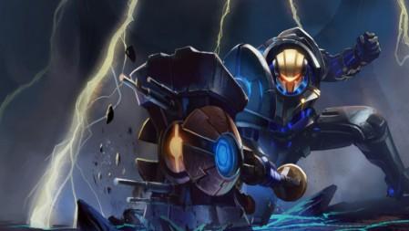 未来守护者-全金属狂潮-杰斯 英雄联盟 壁纸高端桌面精选 3840x2160