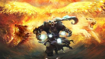 兽灵行者 乌迪尔 英雄联盟 壁纸高端桌面精选 3840x2160